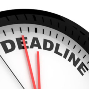 Don't Try To Avoid It, You Need A Deadline